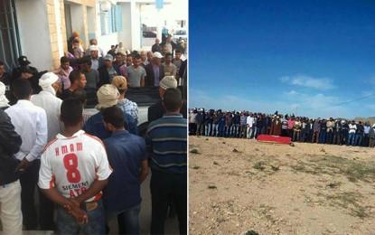 Enterrement du berger tué par des terroristes à Sidi Hras (vidéo)