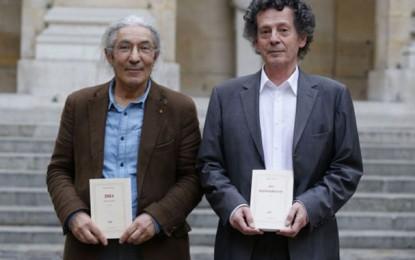 Kaddour et Sansal lauréats ex-aequo du grand prix de l'Académie française