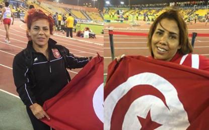 Mondial Handisports : L'or pour les Tunisiennes Raoua Tlili et Henia Ayadi