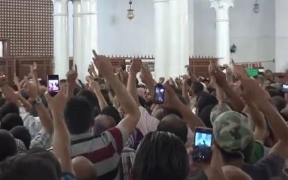 Sfax : Les partisans de l'imam Jaouadi empêchent la prière du vendredi (vidéo)