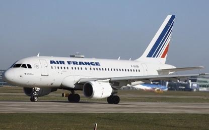 Air France maintient tous ses vols sur la France