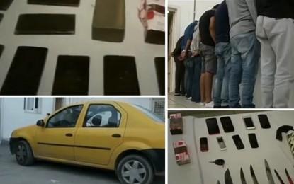 Sousse : Démantèlement d'un réseau de trafic de drogue