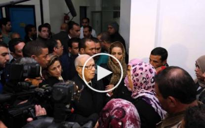 Attentat de Tunis: Le chef de l'Etat rend visite aux blessés