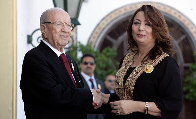 Beji-Caid-Essebsi-et-Wided-Bouchamaoui