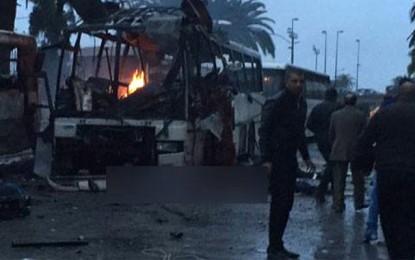 Les internautes fêtant l'attaque de Tunis dénoncés à la police
