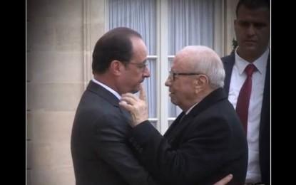 Attentats à Paris : Caïd Essebsi présente ses condoléances à Hollande