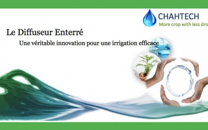 Irrigation : Une technologie tunisienne distinguée mondialement