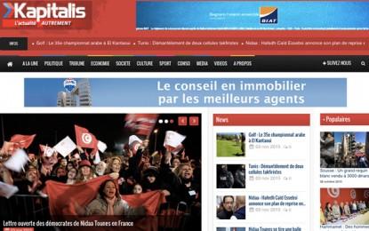 Kapitalis en tête des journaux électroniques francophones tunisiens
