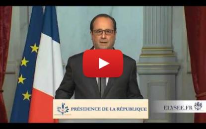 F. Hollande: «La France sera impitoyable à l'égard des terroristes»