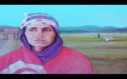 Portrait de Mbarka, veuve du berger assassiné par des terroristes