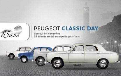 Défilé à l'Avenue Bourguiba : Peugeot comme au bon vieux temps