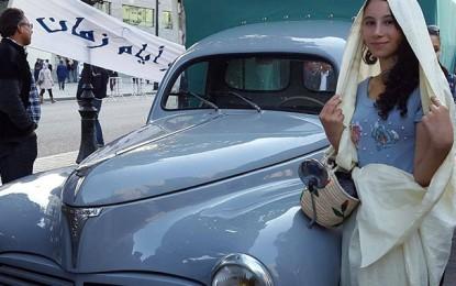 Peugeot Classic Days : Le Lion parade dans l'Avenue