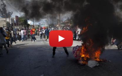 Présidentielles de Haïti: Un mort dans des manifestations