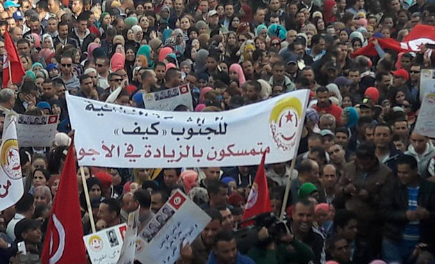 Sfax grèves
