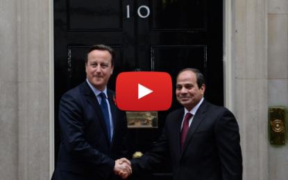 Visite officielle d'Al-Sissi au Royaume-Uni