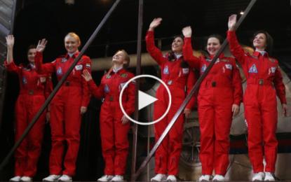 Russie: Formation d'un équipage spatial 100% féminin