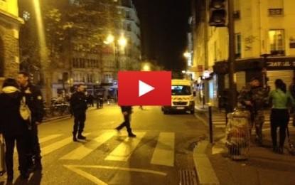 Au moins 18 morts dans une fusillade à Paris