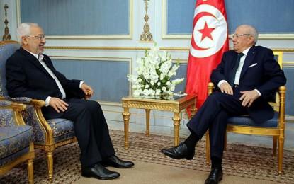 Ghannouchi réaffirme son soutien à Caïd Essebsi