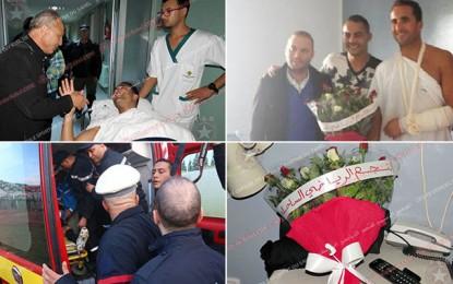 L'Étoile prend en charge les frais des soins de Hamdi Kasraoui
