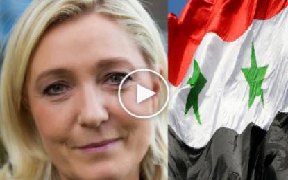 M. Le Pen: «La Syrie doit être ralliée à la coalition contre Daech»