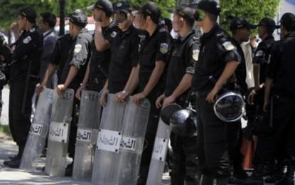 Opérations de ratissage à l'Avenue Habib Bourguiba