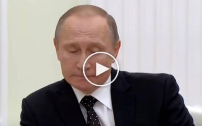 Poutine à Hollande: «Nous partageons les douleurs et le deuil des Français»