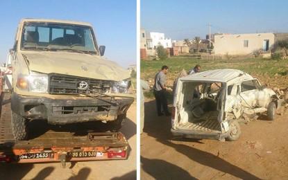 Accident à Ben Guerdane : Décès d'un père et ses 2 enfants