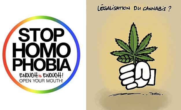 Cannabis-Homophonie