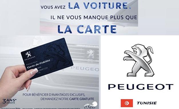 Auto Stafim Lance La Carte De Fidlit Peugeot