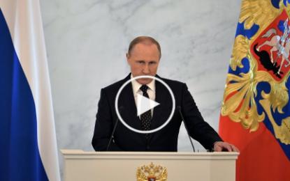 Poutine hausse le ton: «Les Turcs vont regretter ce qu'ils ont fait»