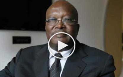Roch Marc Kaboré, nouveau président élu du Burkina Faso