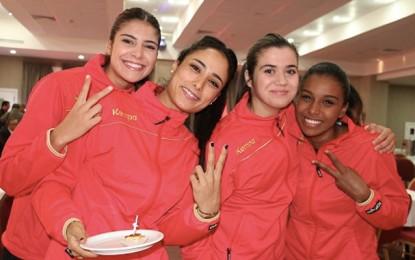 Mondial du Danemark : Ooredoo honore la sélection féminine de handball