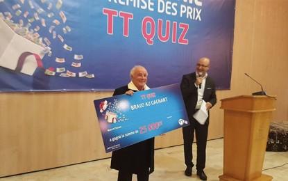 Remise des prix TT Quiz : Tunisie Telecom fait 180 heureux