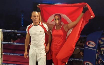 Boxe française: Pas d'officiels à l'accueil de Wided, championne du monde