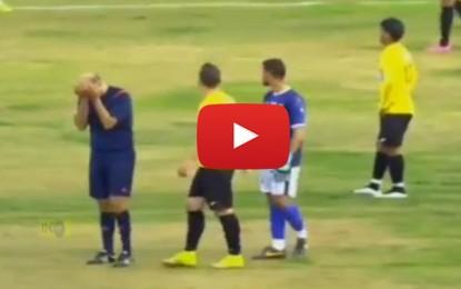 Football : Quand un arbitre éclate en sanglot sur le terrain