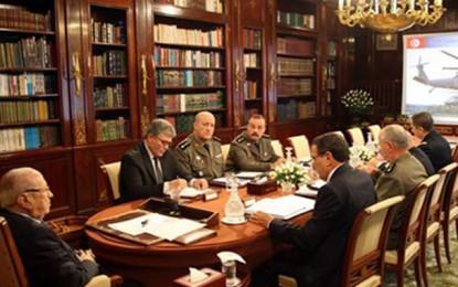 Le Conseil supérieur des forces armées se réunit à Carthage