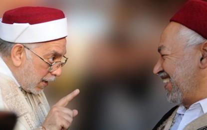 Ennahdha: Mourou veut se retirer, Ghannouchi le retient