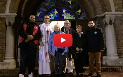 Messe de Noël à Lens : Des musulmans assurent la sécurité de l'Eglise