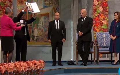 Nobel de la Paix: Le Quartet reçoit son prix  (vidéo)