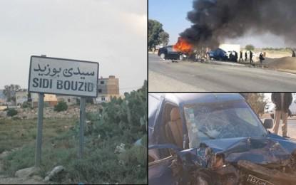 Sidi Bouzid : 1 mort et 2 blessés dans un accident de la route