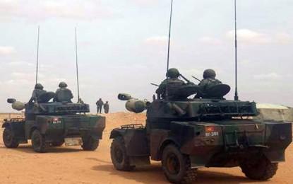 Echange de tirs entre l'armée tunisienne et des Libyens armés