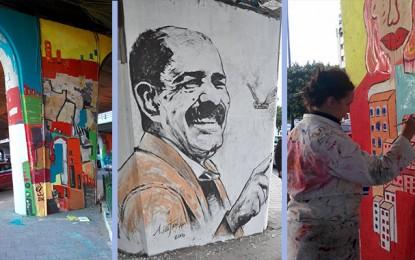 Tunis : Des artistes peignent les couleurs de la liberté