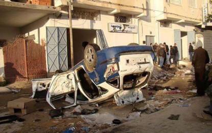 Kairouan: Arrestation de 10 incendiaires d'un dépôt de la douane