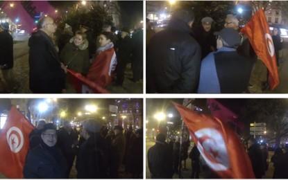 Paris : Rassemblement de soutien aux chômeurs en Tunisie