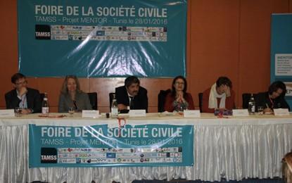Clôture de la Foire de la Société civile de Tunis