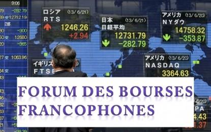 Investissement : Forum des bourses francophones à Tunis