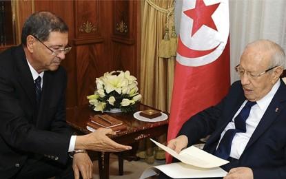 Béji Caïd Essebsi : «Habib Essid préfère aller devant l'Assemblée»