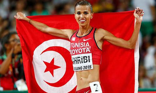 Habiba Ghribi meilleure sportive arabe 2015 Habiba-Ghribi-Tunisie-PF