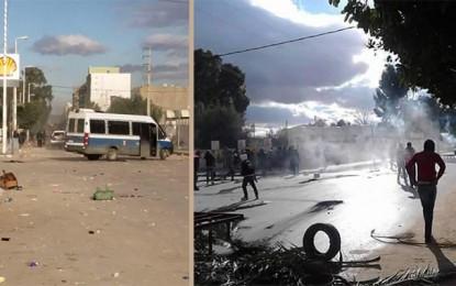 Kasserine : Couvre-feu et ville paralysée