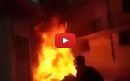 Kasserine : Le bureau de Nidaa incendié
